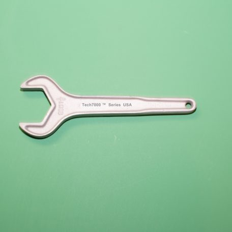"25H1 1/2 "" Sanitary Valve Wrench Sanitary Fitting Wrench Sanitary Valve Wrench - Bulk Tank Wrench - Tanker Wrench - Hex Hose Fitting Bulk tank wrench and dairy wrench for sanitary valves. Sanitary valve wrench made in USA of 713 Tenzaloy aluminum bulk tank sanitary valve wrench. Tech7000 Applications: Industrial Hose Fittings - End Caps - Dairy Valve Wrench - Sanitary Valve Wrench - Aluminum Wrench - Bulk Tank Wrench"